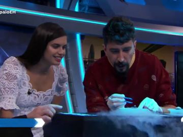 La ciencia completa de Marron con Sara Sampaio en 'El Hormiguero 3.0'