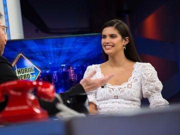 """Sara Sampaio en 'El Hormiguero 3.0': """"Tengo tantos zapatos que he tenido que construir un armario especial"""""""