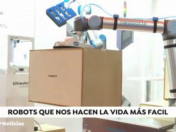 Robots que nos hacen la vida más fácil