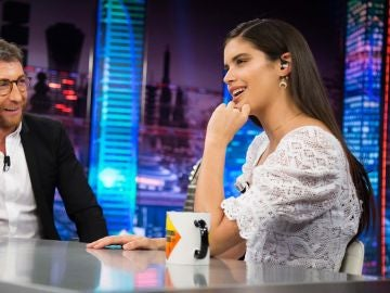 Sara Sampaio revela en 'El Hormiguero 3.0' los inconvenientes de ser una supermodelo