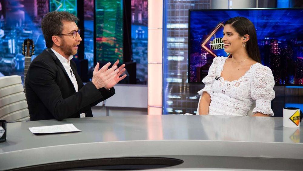 """Sara Sampaio confiesa en 'El Hormiguero 3.0': """"Me encanta la comida basura"""""""