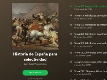 Podcasts de Historia de España