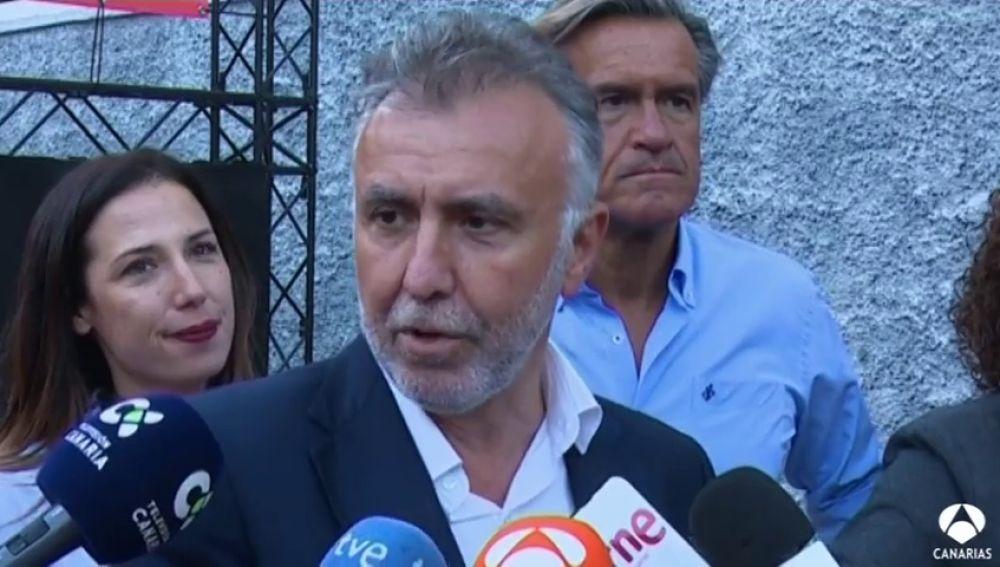 Ángel Víctor Torres abre la campaña en Santa Cruz Tfe