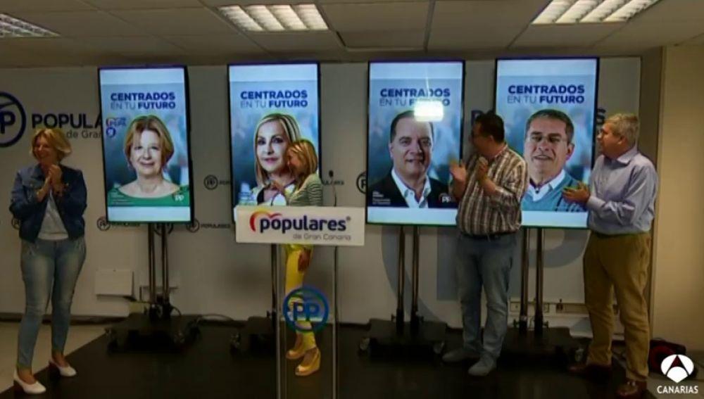 El PP anima a teñir de azul el mapa de Canarias