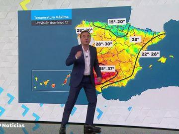 Roberto Brasero explica hasta cuándo se mantendrán las temperaturas elevadas