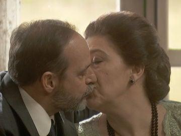 La emotiva declaración de amor de Francisca y Raimundo