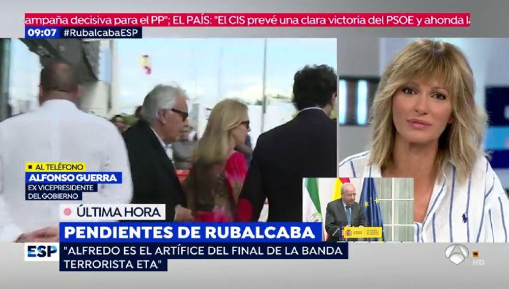 Preocupación por Rubalcaba