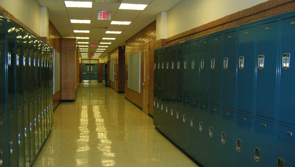 Pasillos de un instituto