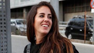 Anabel Pantoja por las calles de Madrid