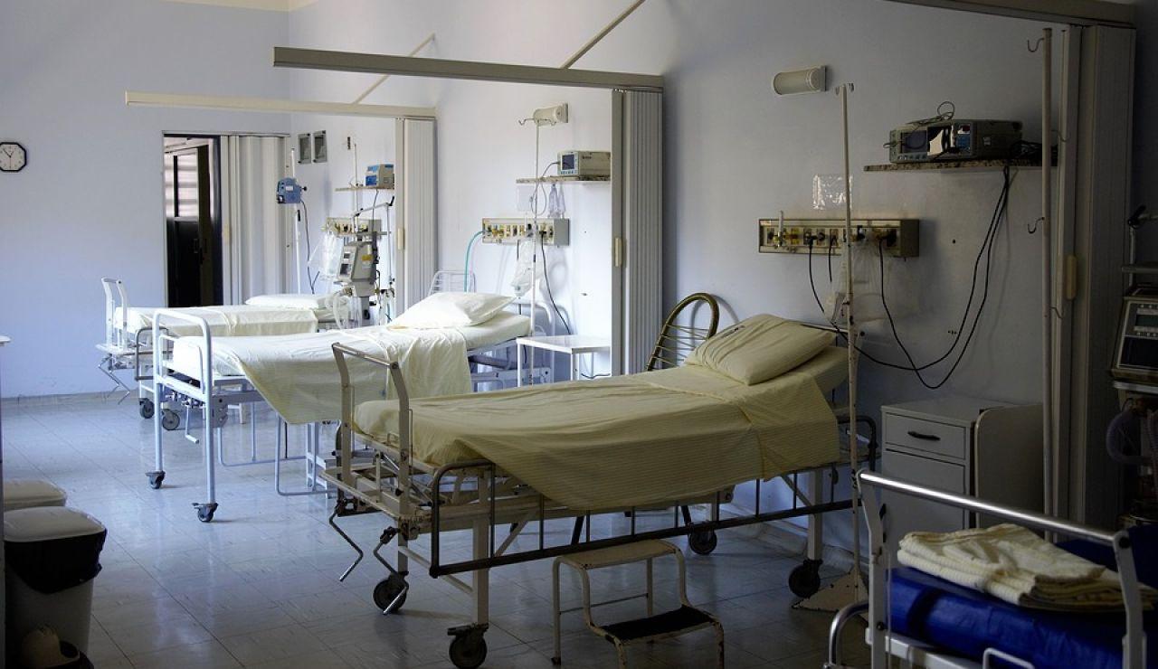 Imagen de camas de hospital