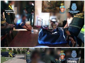 Cae una banda de traficantes de la Ndrangheta italiana y el clan de 'los Castañas'