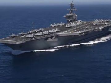 Estados Unidos refuerza sus tropas en Oriente Medio con un buque anfibio y misiles, como respuesta a lo que califica de amenaza de Irán
