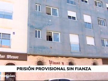 Ingresa en prisión sin fianza el hombre acusado de matar a su pareja en Murcia