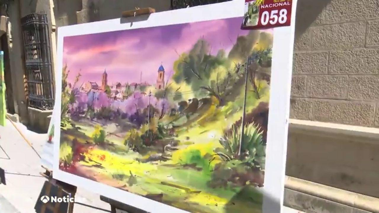 El Concurso De Pintura Rápida De Castellar Colorea De Arte