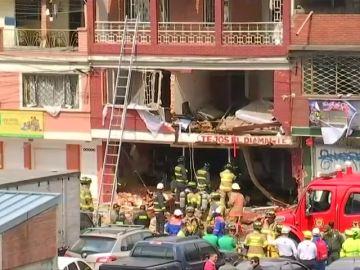 Cuatro fallecidos y treinta heridos por la explosión de una vivienda en Bogotá