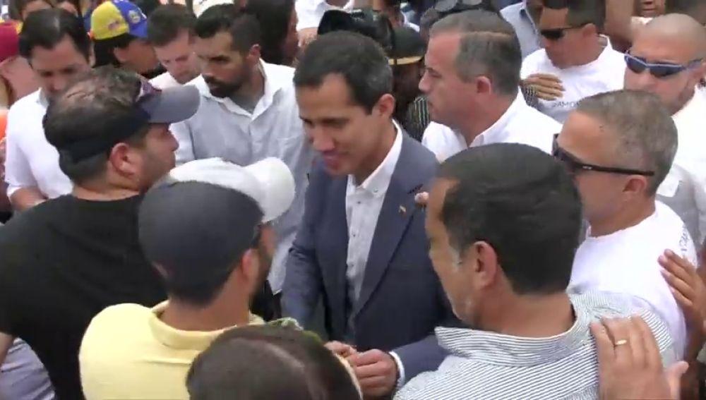"""REEMPLAZO   Juan Guaidó quiere establecer relaciones de """"cooperación"""" con las Fuerzas Armadas estadounidenses"""