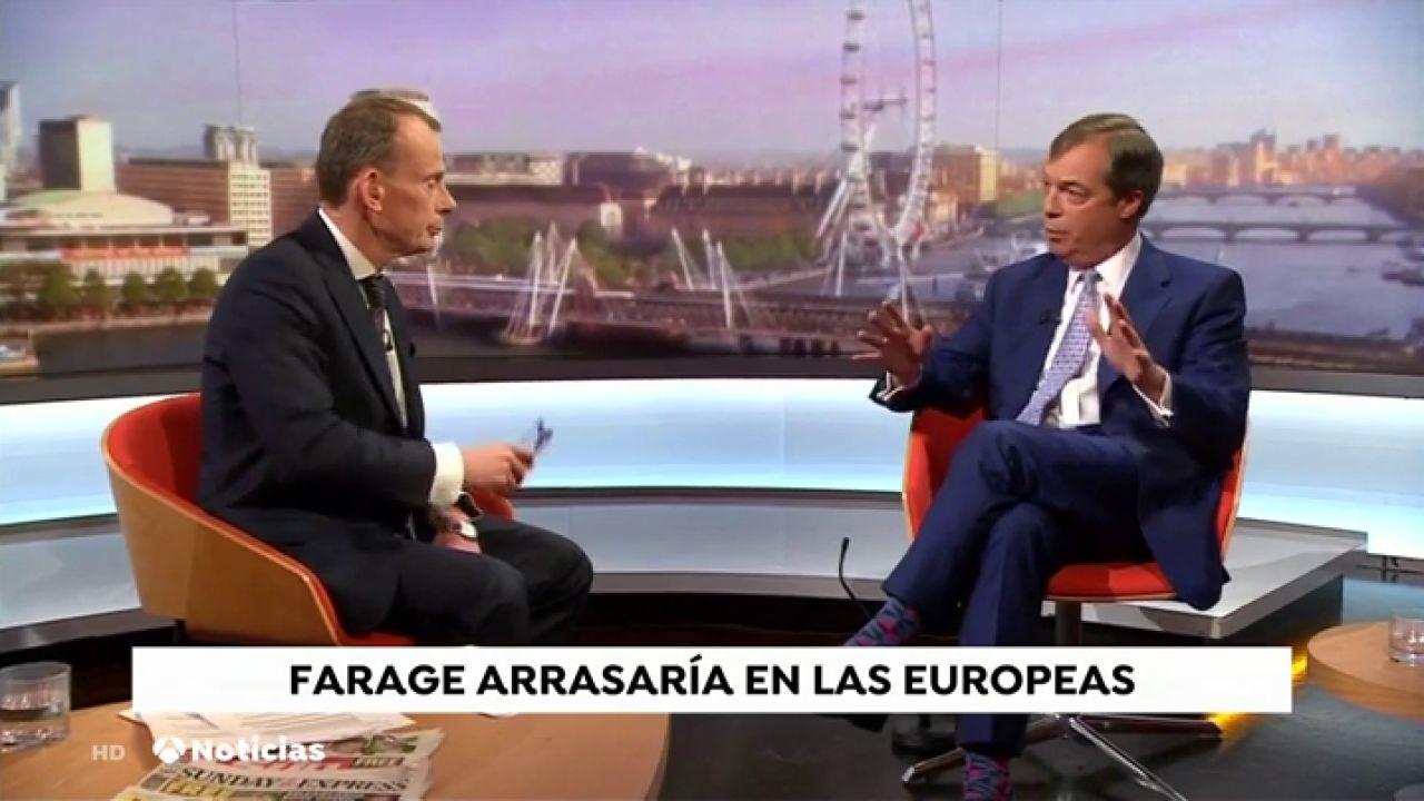 Elecciones Europeas: Farage, A Un Periodista De La BBC