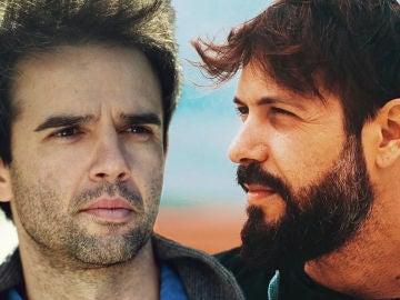 Raúl Peña y Chico García, Carmelo y Severo en 'El secreto de Puente Viejo'