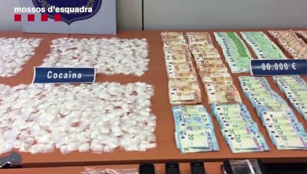 """Detienen a tres traficantes de cocaína """"muy activos"""" en Barcelona"""