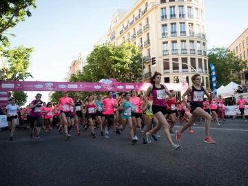Carrera de la mujer contra el cáncer, la discriminación y la violencia machista