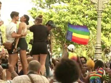 Al menos dos personas detenidas en la manifestación ilegal del colectivo LGTBI en Cuba