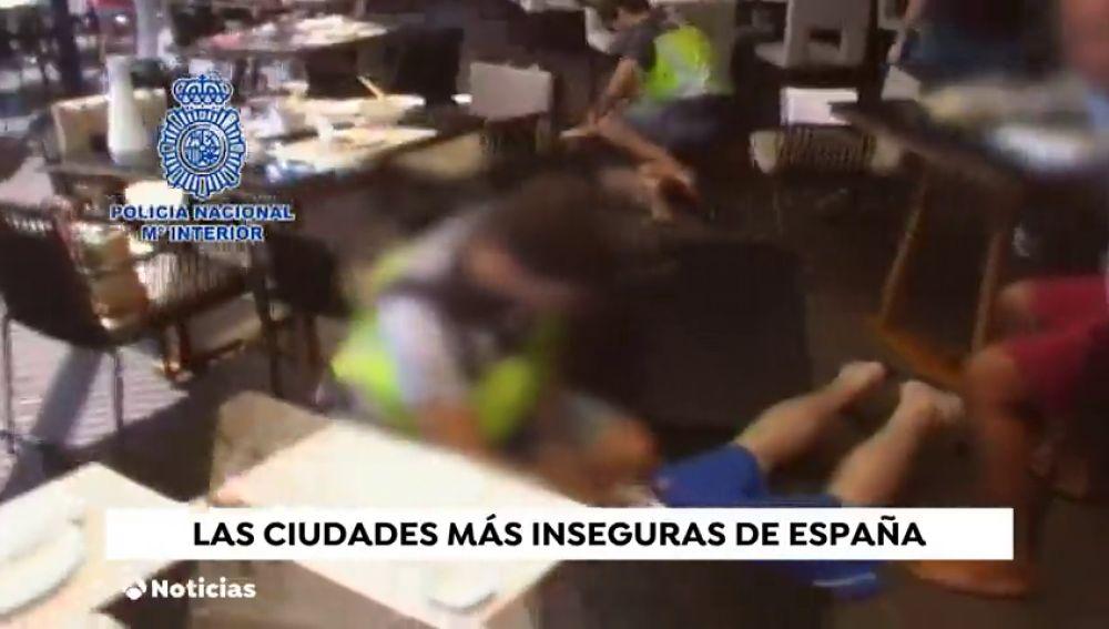 Datos de criminalidad: las ciudades más seguras e inseguras de España