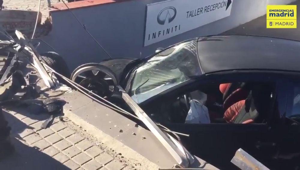 Muere una mujer atropellada por un coche sin control