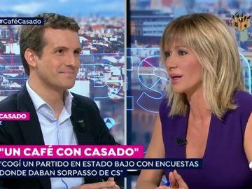 Un café con Pablo Casado