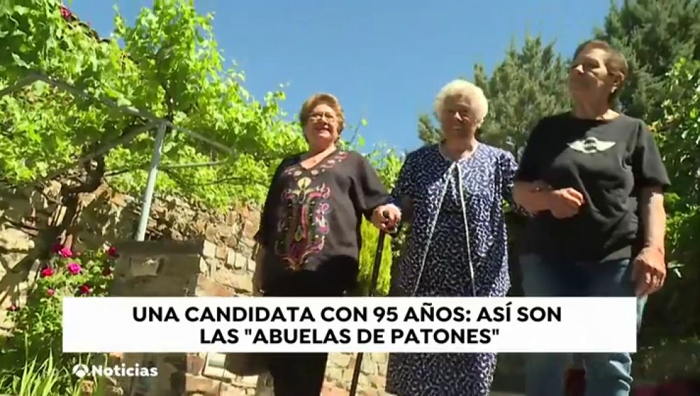 Charito la candidata de 'Abuelas por Patones' más anciana de estas elecciones