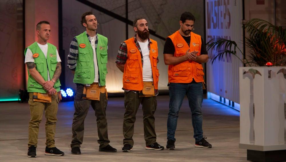 Borja y Eric o Raúl y Chano a las puertas de abandonar 'Masters de la reforma'