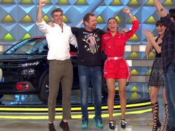 El Monaguillo, Marron y Pilar Rubio recaudan 10.583€ para la Fundación Atresmedia
