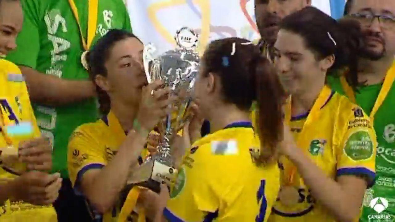 Las Chicas De Rocasa Gran Canaria, Campeonas De La