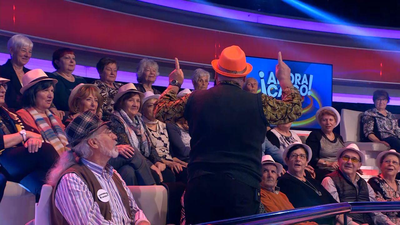 Excepcional Visita En '¡Ahora Caigo!': ¡ha Venido 'La