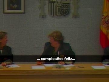 Otro momento anecdótico de la jueza Ángela Murillo
