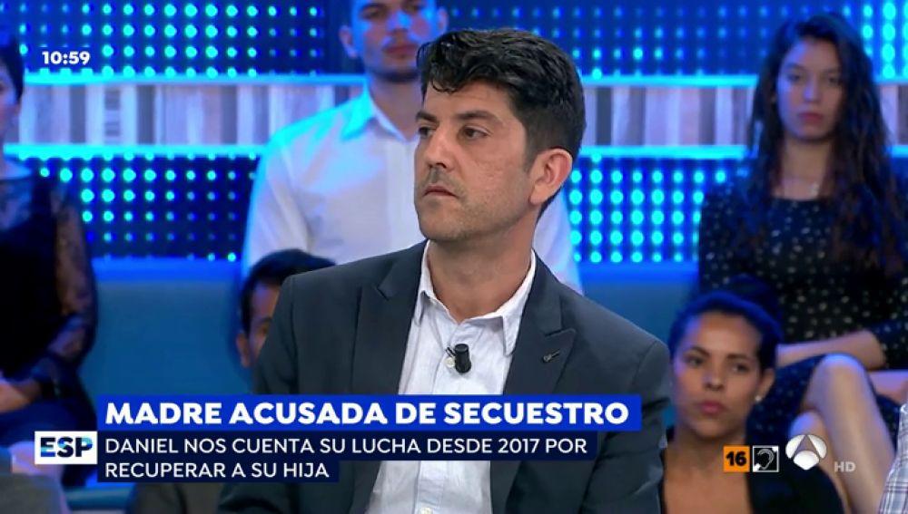 Daniel I. Aguirre, padre de la niña secuestrada