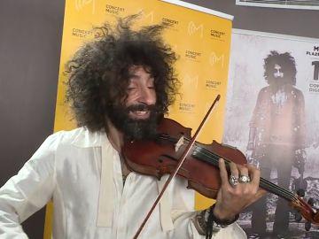 """Ara Malikian :""""Siempre tengo un violín de repuesto""""."""
