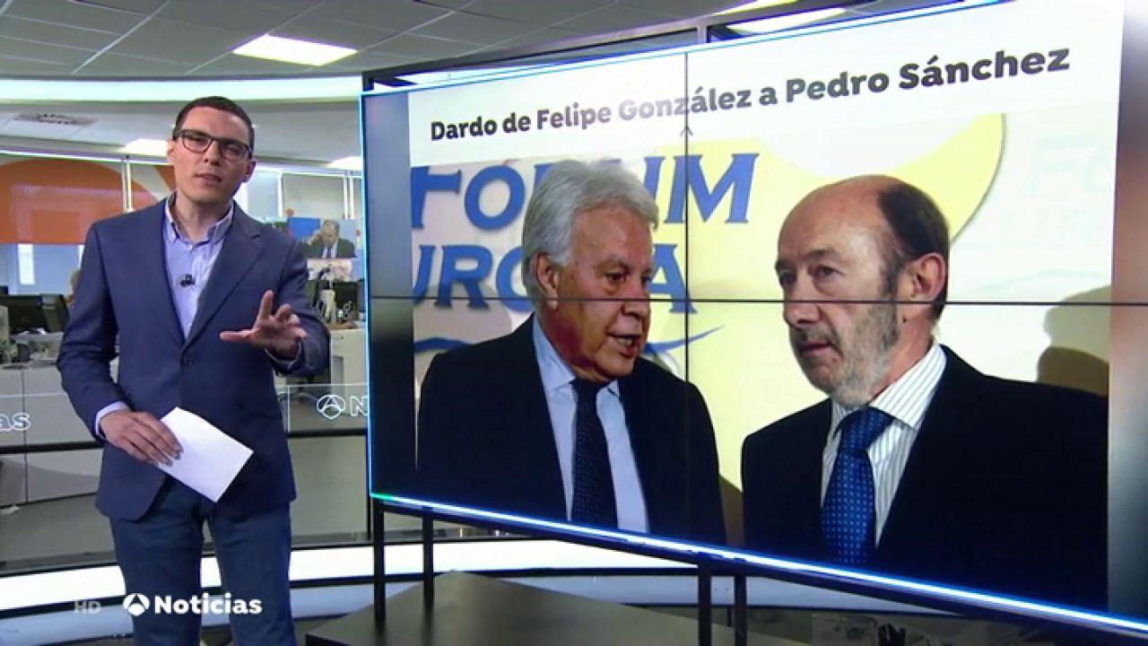 Felipe González Lanza Un Dardo A Pedro Sánchez Y Pide A