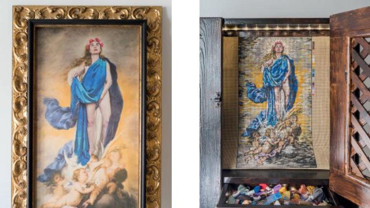 Destrozan Una Obra De La Exposición 'Maculadas Sin Remedio