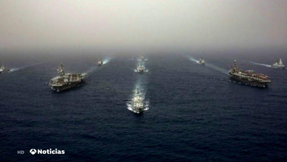 REEMPLAZO España retira la fragata 'Méndez Núñez' del grupo de combate de EEUU en Oriente Próximo