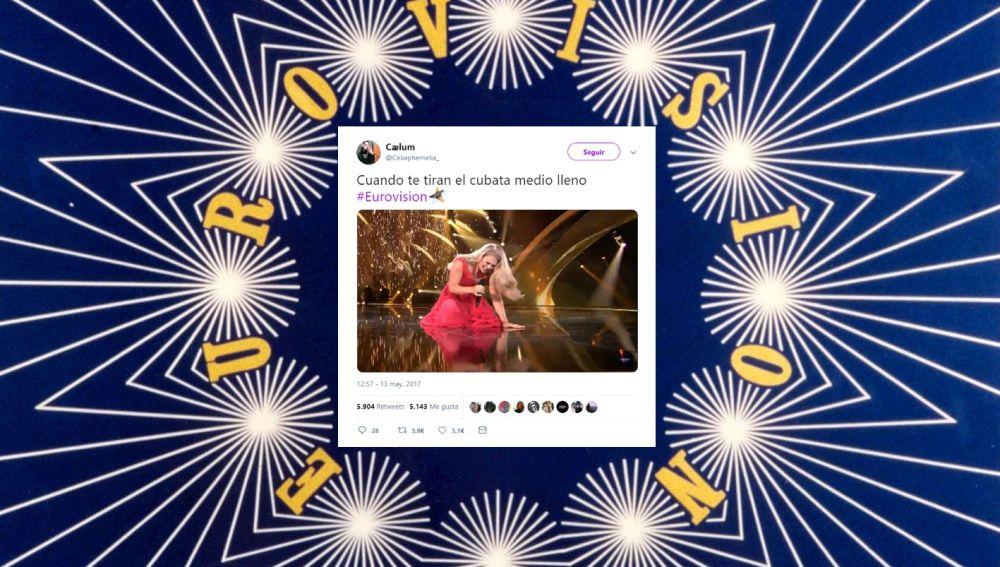 Tuits de Eurovisión que resumen tu vida