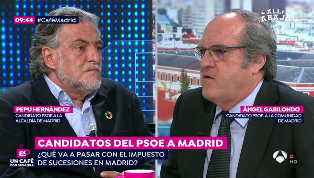 Pepu Hernández y Ángel Gabilondo
