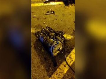 Brutal accidente en Valencia