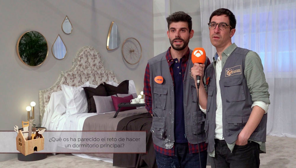 Javier y Jonathan en 'Masters de la reforma'
