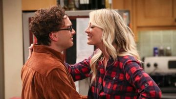 Leonard y Penny en 'The Big Bang Theory'