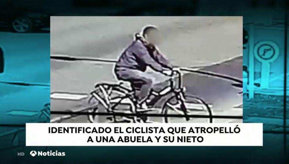 Identificado el ciclista que atropelló a una abuela y su nieto en Barcelona