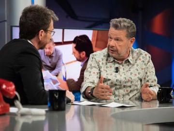 Alberto Chicote admite en 'El Hormiguero 3.0' que desconocemos el origen del marisco que comemos