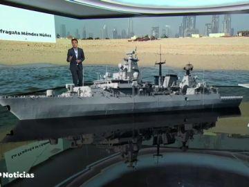 REEMPLAZO España retira la fragata 'Méndez Nuñez' del grupo de combate de EEUU en Oriente Próximo