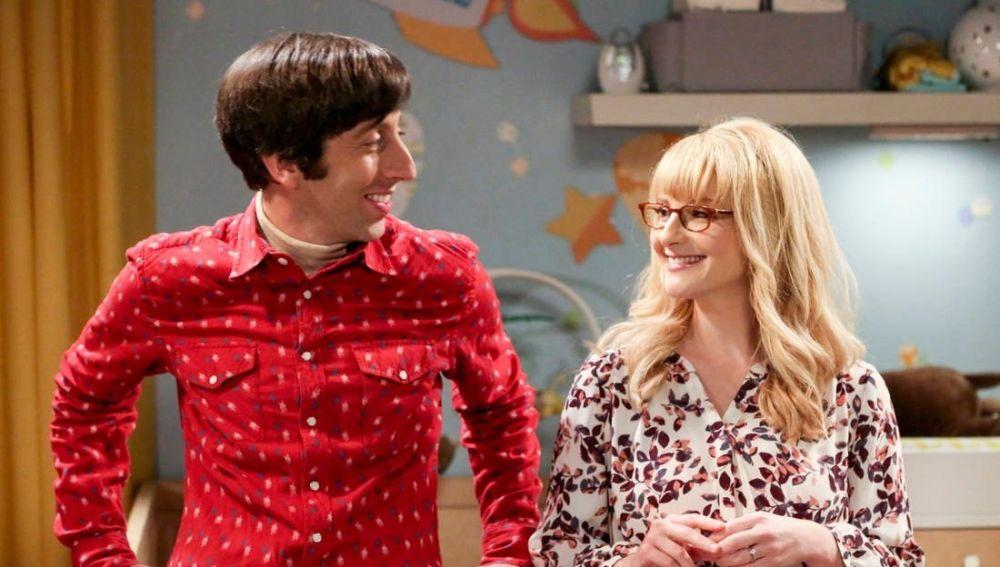 Howard y Bernadette en 'The Big Bang Theory'