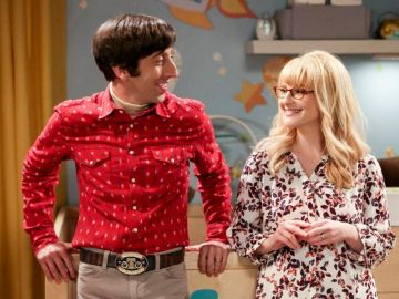 Howard y Bernadette en 'The Big Bang Theory'