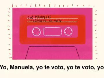 'Como yo te veo', la versión de la canción de Rocío Jurado que pide el voto para Carmena